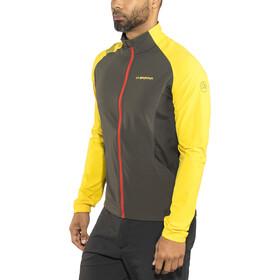 La Sportiva Levante Chaqueta Hombre, black/yellow